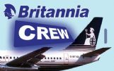 Britannia Airways Crew Tag (Landscape)